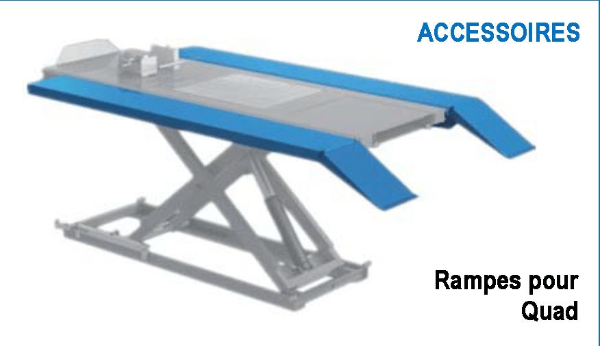 Rampes quad XT100E